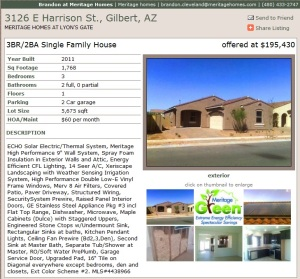 Meritage Homes | Going 'Green' in Gilbert